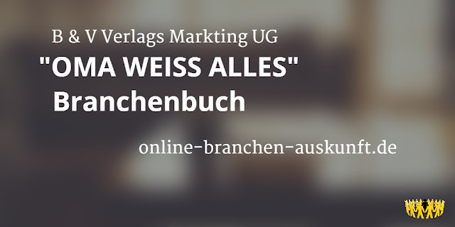 B & G Verlags Marketing UG - online-branchen-auskunft.de