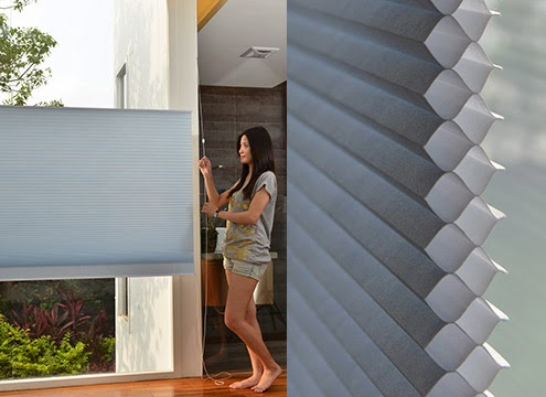 風琴簾(蜂巢簾)|雙槽結構超強隔熱保濕