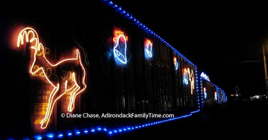 Canadian Pacific Holiday Train Heads to the Adirondacks and New York State 2016