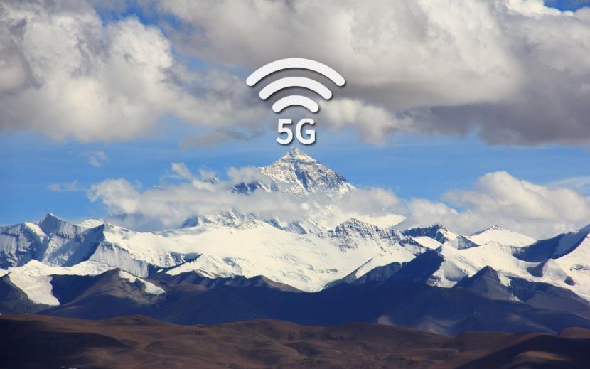 China instala torres de 5G no lugar mais alto do mundo, Monte Everest