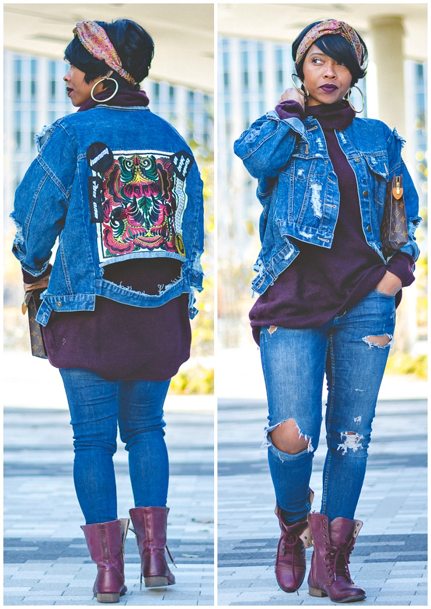 OUTFIT IDEAS - Denim Jacket- LOOK 2