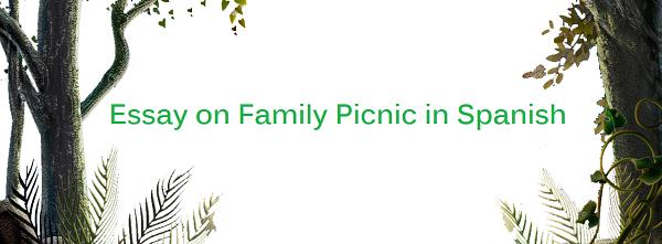 Essay on Family Picnic in French Language Essai sur le pique-nique en famille