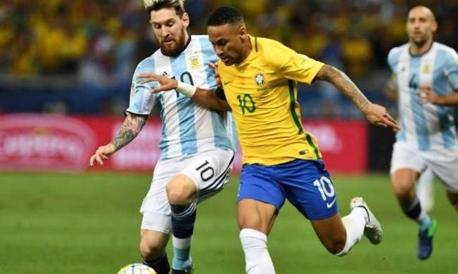 بث مباشر مباراة البرازيل والأرجنتين  تصفيات كأس العالم.