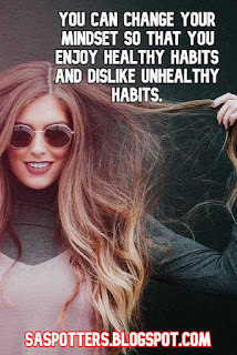 You can change your mindset so that you enjoy healthy habits and dislike unhealthy habits.