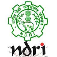 NDRI 2021 Jobs Recruitment Notification of Senior Research Fellow and more posts