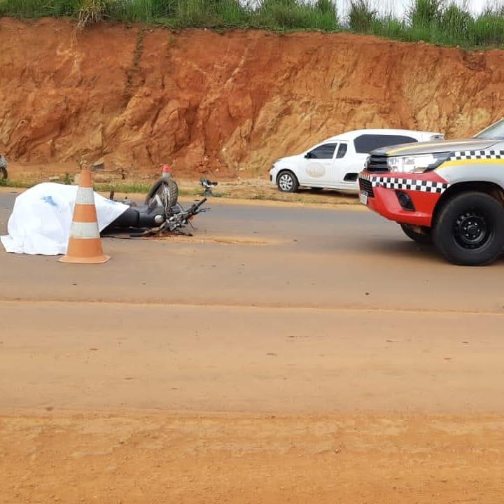Pebão: Piloto morre em colisão de moto com caminhonete entre Parauapebas e Curionópolis