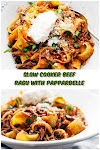 #Slow #Cooker #Beef #Ragu #with #Pappardelle #chickenrecipes #recipes #dinnerrecipes #easydinnerrecipes