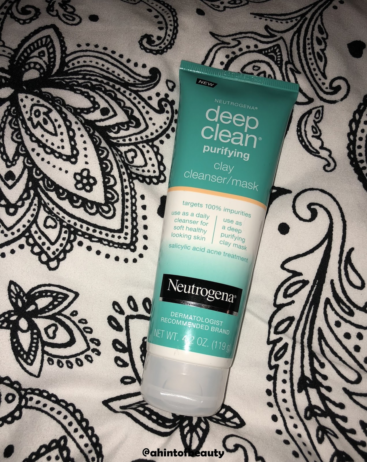 Deep Clean Purifying Clay Mask & Cleanser by Neutrogena #7