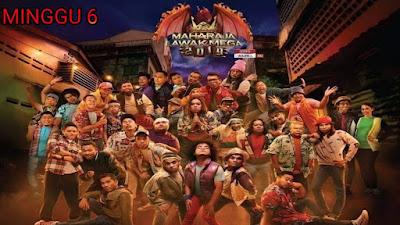 Live Streaming Maharaja Lawak Mega 2019 Minggu 6
