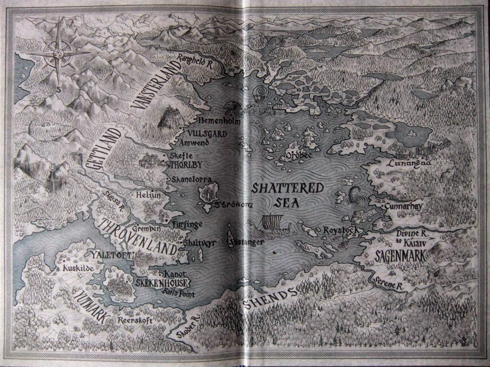 The First Law   Joe Abercrombie Maps of Fantasy Worlds Pinterest - best of world map true country size