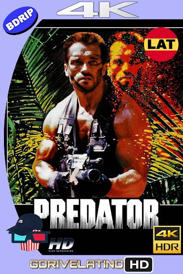 Depredador (1987) BDRip 4K HDR Latino-Ingles MKV