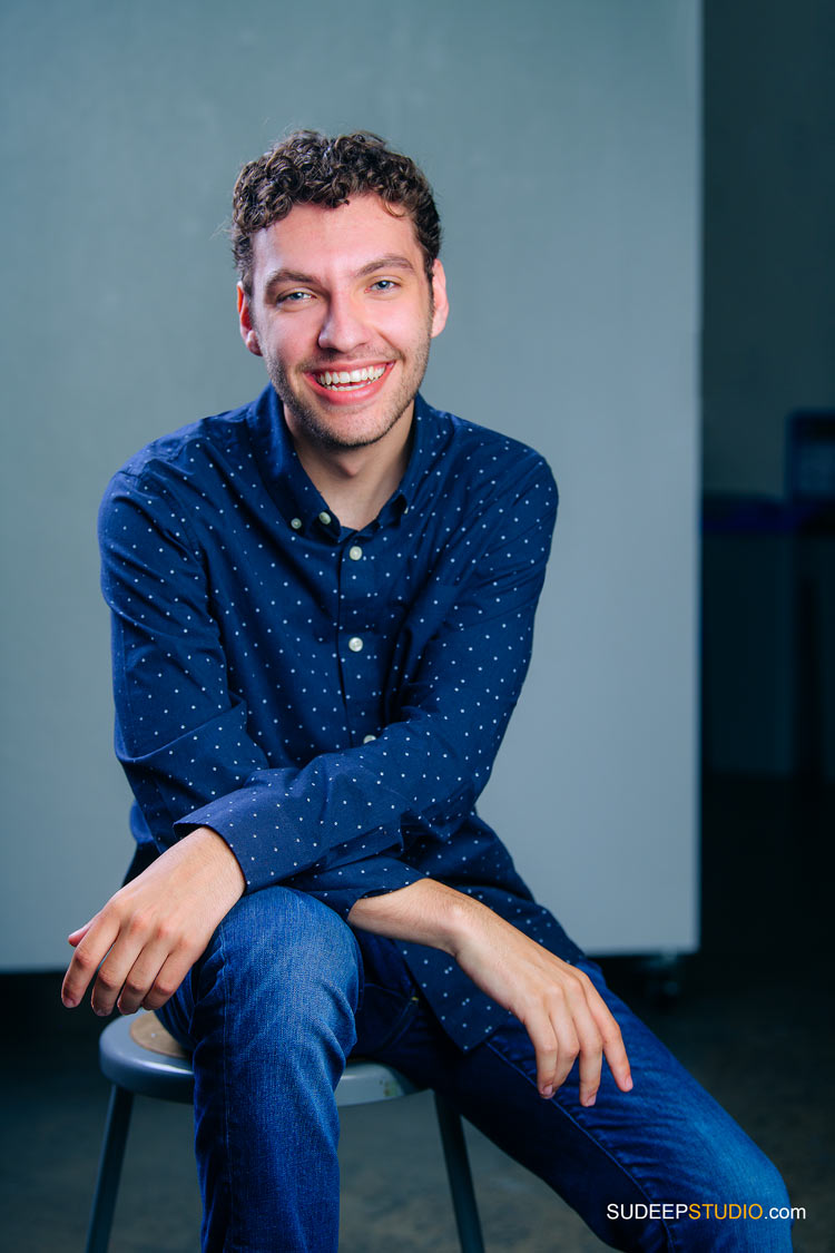 Actor Comedian Portrait for Audition Publicity Standup Comedy Open Mic by SudeepStudio.com Ann Arbor Actor Headshot Photographer