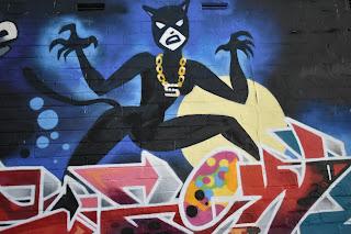 Parramatta Street Art | 'Crazece Cats by Spice