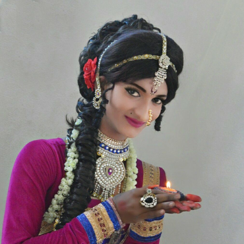 Boy Dressed As A Girl To Perform Bharatanatyam