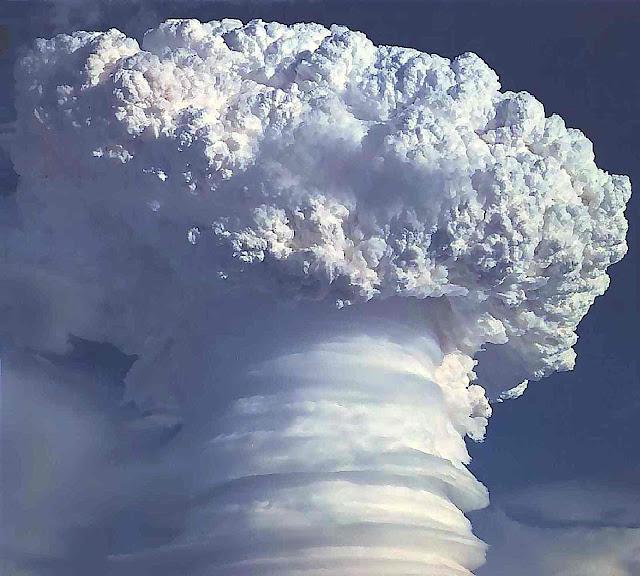 1958 nuclear explosion, a photograph