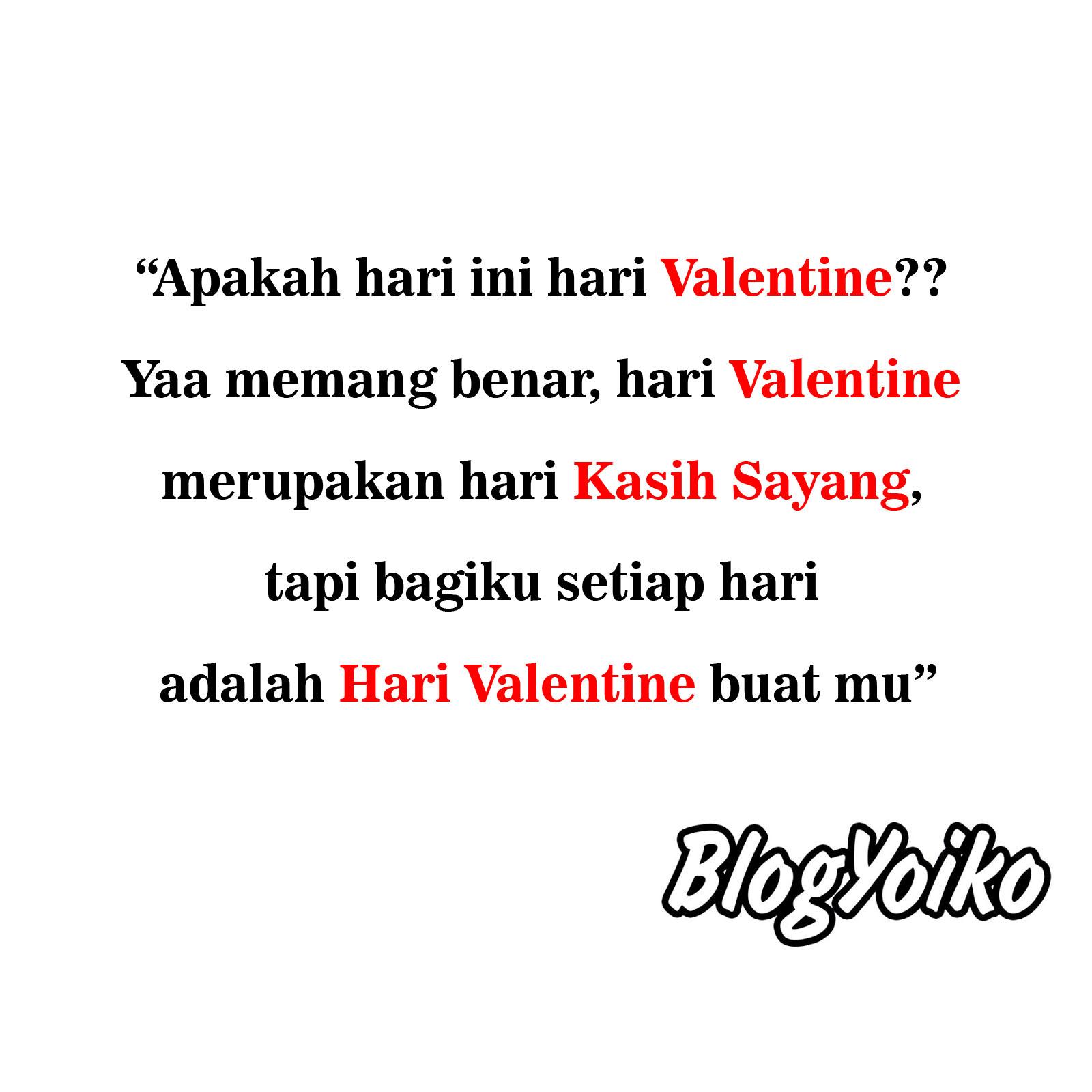 Kata Kata Ucapan Selamat Hari Valentine Untuk Pasangan Blog Yoiko