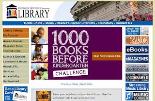 Louisville's website