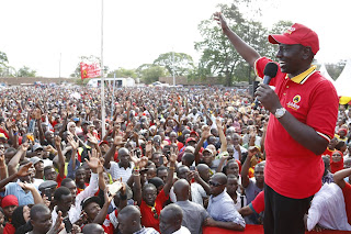 Deputy president William Ruto in the COAST.