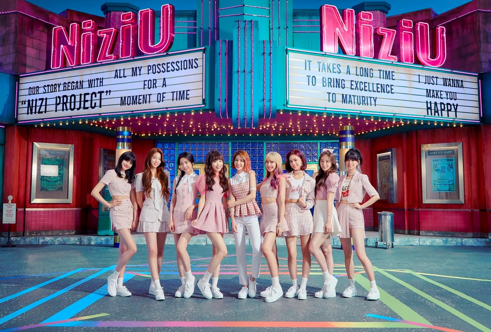 """Inilah MV Teaser 1 NiziU """"Make you happy"""""""