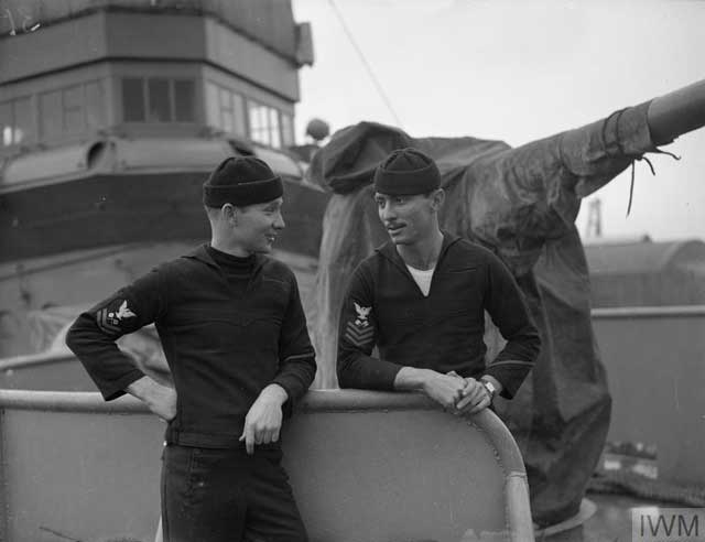 US Navy sailors in England, 29 January 1942 worldwartwo.filminspector.com