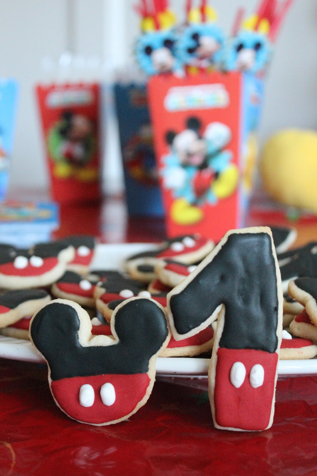 Mickey Cookies, 1 cookies