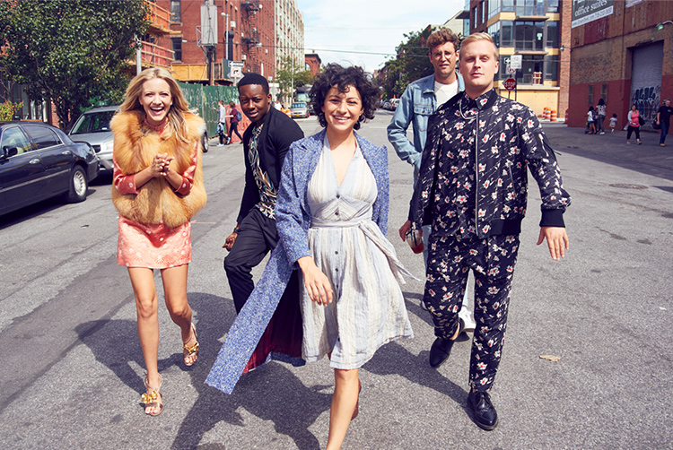 Balance de temporada Search Party cast elenco