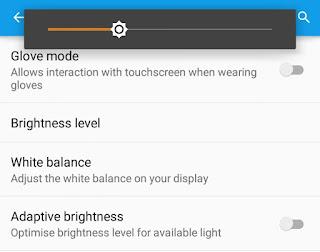 Change Brightness Level