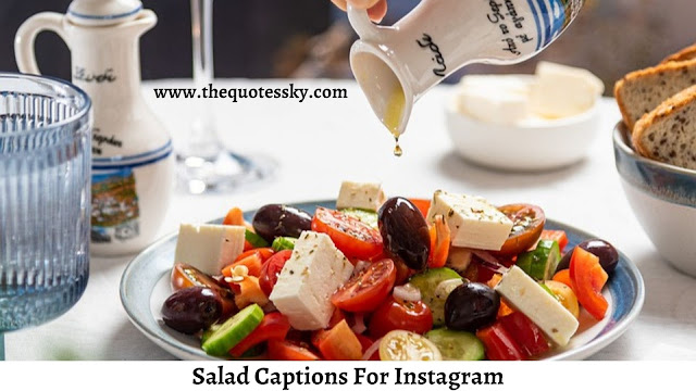 261+ Salad Captions For Instagram [ 2021 ] Also Salad Quotes
