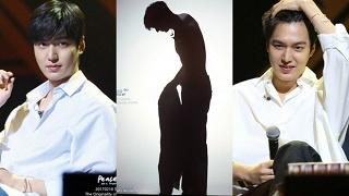 Họp fan lần cuối trước khi nhập ngũ, Lee Min Ho không ngại thay đồ lộ thiên