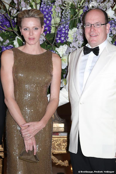 Prince Albert and Princess Charlene attended the charity gala of the German International Club of Monaco