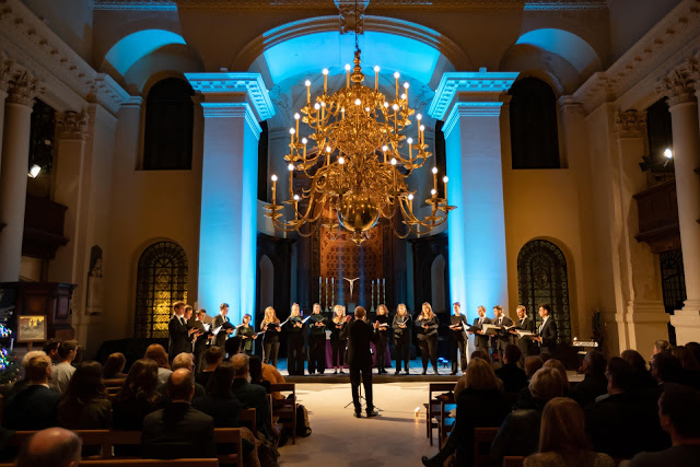 Chamber Choir of London, Dominic Peckham - St George's Church, London