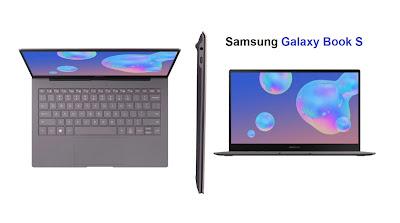 مواصفات حاسب سامسونج جالكسي بوك Samsung Galaxy Book S   نبذة عن الجهاز سامسونج جالكسي بوك Galaxy Book S لابتوب سامسونج جالكسي بوك Samsung Galaxy Book S