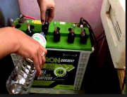 After catching wife with lover, Man drinks battery water.