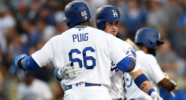 Los cubanos de los Dodgers fueron responsables de 2 de los 3 extrabases del equipo, en causa perdida