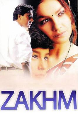 Zakhm 1998 Hindi 480p WEBRip 300mb