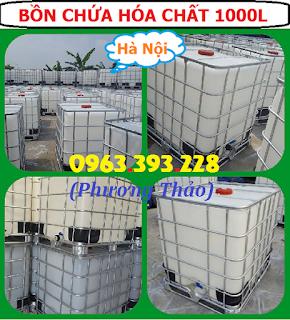 Chuyên cung cấp Bồn chứa hóa chất 1000L tại Hà Nội