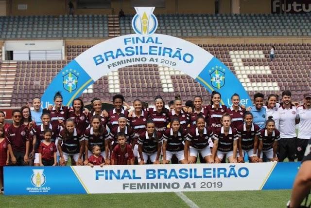 PRIMEIRA EQUIPE BICAMPEÃ DO BRASILEIRO FEMININO