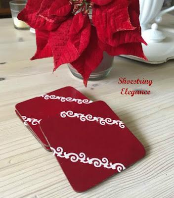 http://shoestringelagance.blogspot.com.es/2016/11/festive-personalized-diy-recycled.html?spref=pi