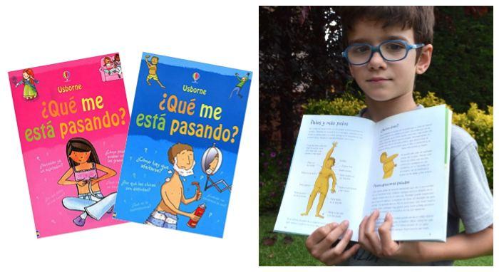 libro infantil juvenil pubertad cambios adolescencia ¿Qué me está pasando? Usborne