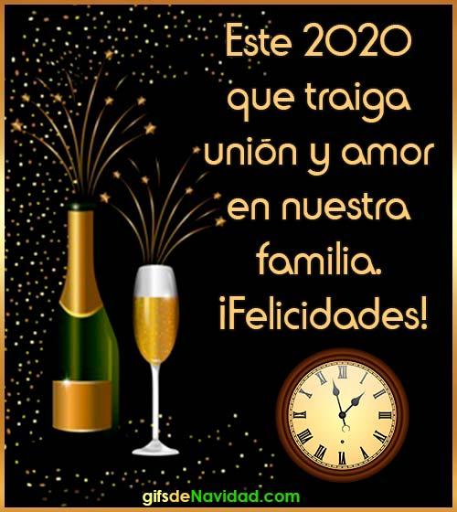 feliz año nuevo frase 2020