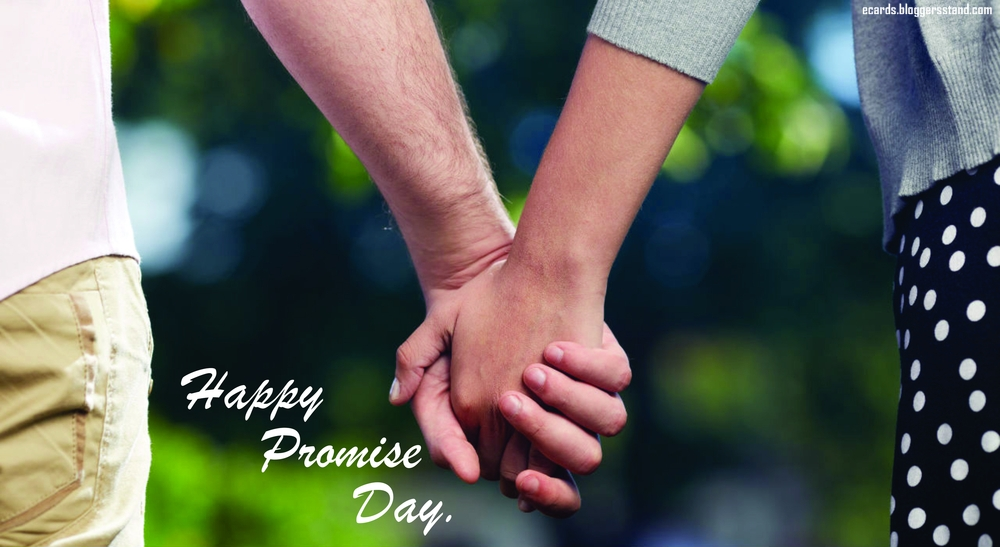Happy Promise Day 2021 Wishes, Greeting Cards, Whatsapp Status Pics