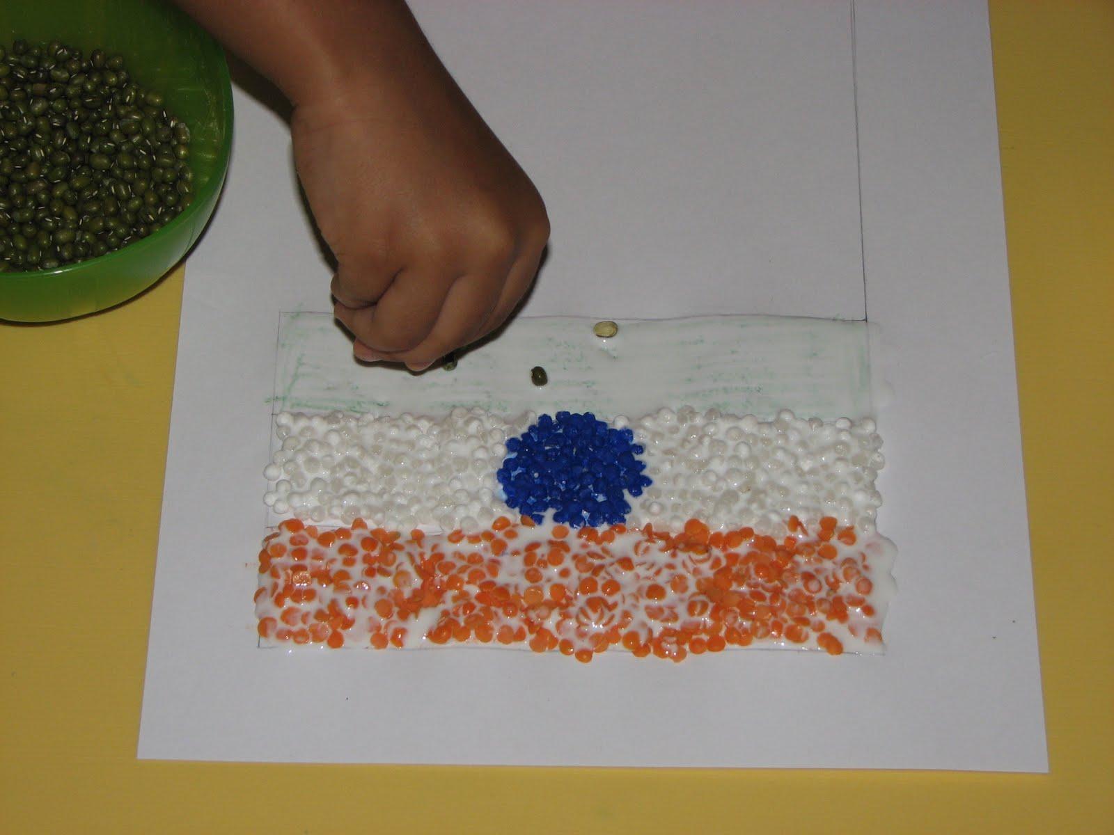 Pulses Triranga Flag Putti S World Kids Activities