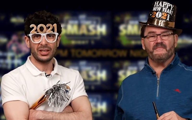 """Tony Khan """"zomba"""" da IMPACT Wrestling e volta a promover a AEW em comercial na televisão"""