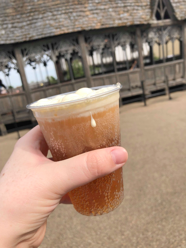 A cup of butterbeer