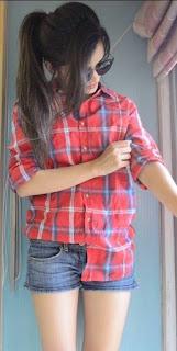 stylish girl pose dp