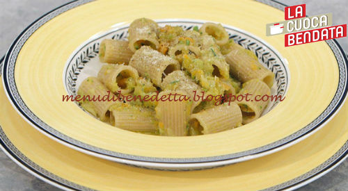La Cuoca Bendata - Tortiglioni al ragù di verdure ricetta Parodi