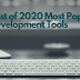 Best of 2020 Most Popular Web Development Tools