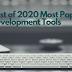 Best of 2020 Most Popular Web Development Tools