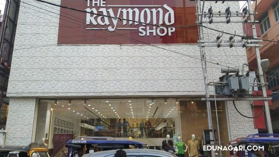 Hathwa market Raymond showroom