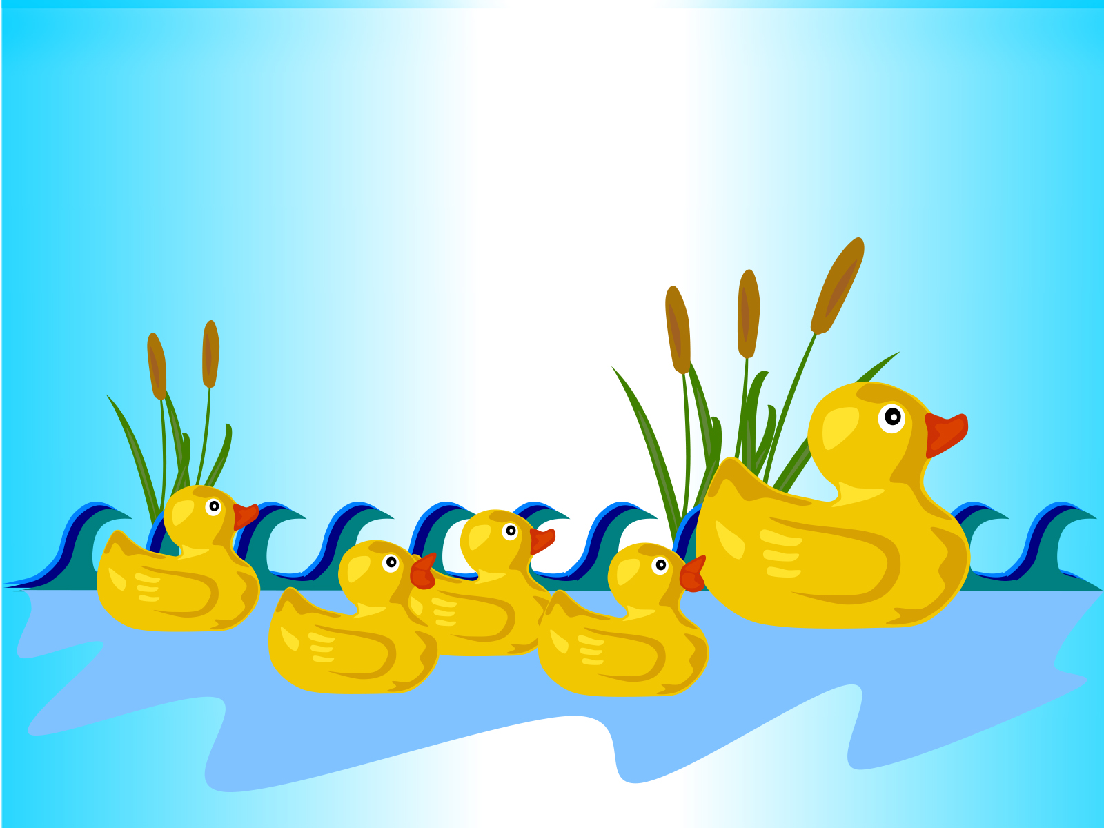 Rubber Ducks PowerPoint Background